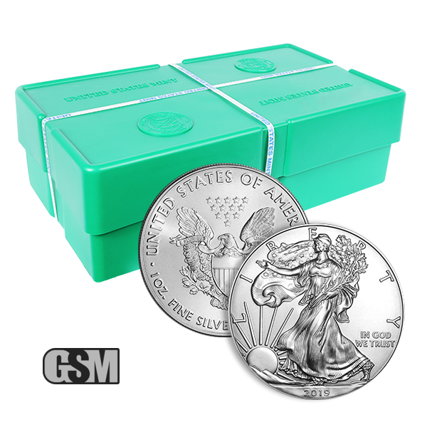 BANK WIRE ONLY US Mint Sealed Box 500 Silver American Eagle 1oz Coins Sealed