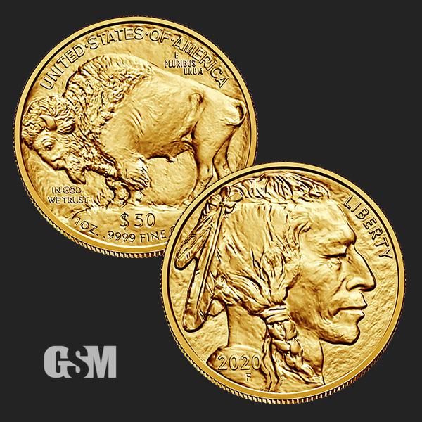 2020 1 Oz American Gold Buffalo Coin Bu