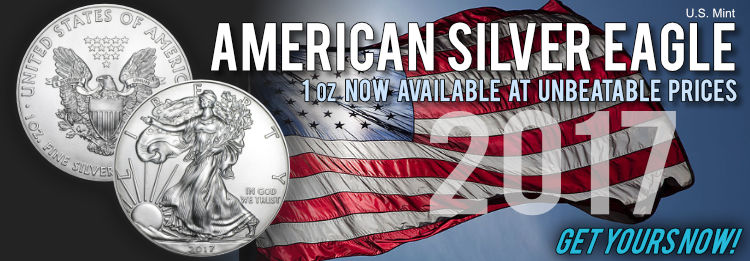 2017 American Silver Eagles best prices available now!