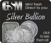 Silver rounds and silver bars buy online