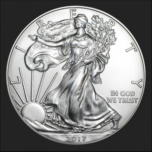 Silver Eagle Obverse