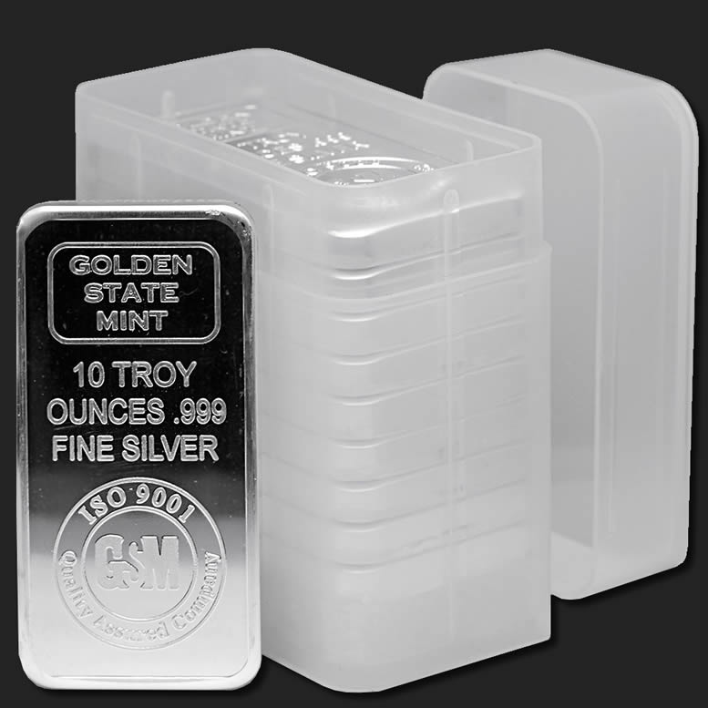 Tubes for 10 oz Silver ...