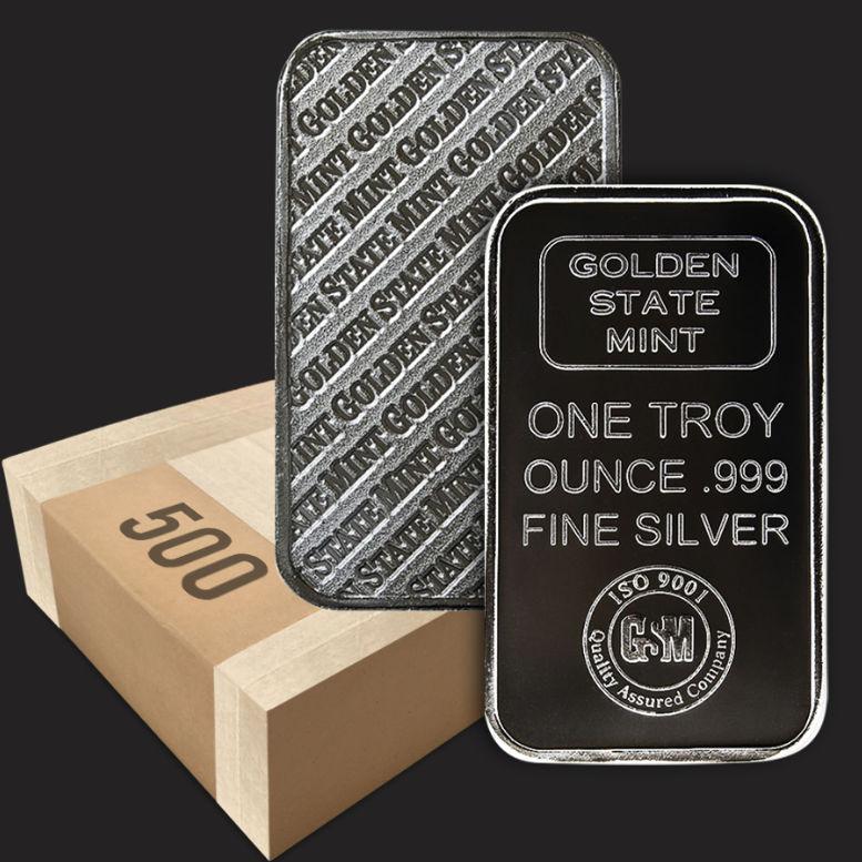 GOLDEN STATE MINT .999 COPPER BULLION BAR COPPER 1 OUNCE BAR-LOT OF 1