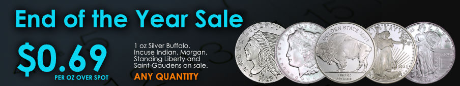 Deals Amp Special Priced Items With The Best Bullion Prices
