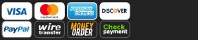 Secure checkout with check or bankwire payments