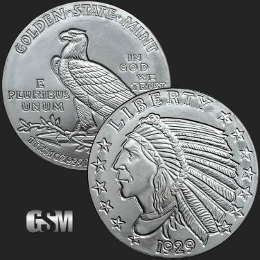Indian 1 oz Silver Coin