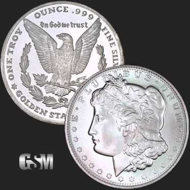 Morgan 1 oz Silver Coin