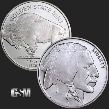 Buffalo 1 oz Silver Coin