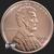 Lincoln Wheat Penny 1 oz Copper BU .999 Fine Obverse