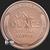 Lincoln Wheat Penny 1 oz Copper BU .999 Fine Reverse