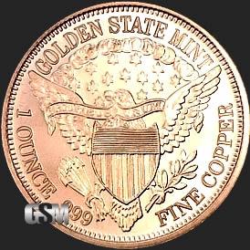 Peace 1 Oz Copper Round 1 Oz Copper Coin