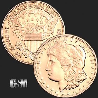 Morgan 1/4 oz Copper Coin