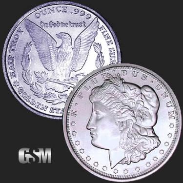Morgan 1/2 oz Silver Coin