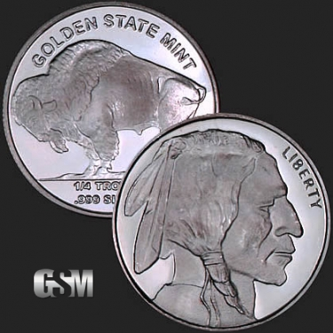 Buffalo 1/4 oz Silver Coin