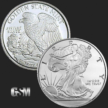 Walking Liberty 1/10 oz Silver Coin