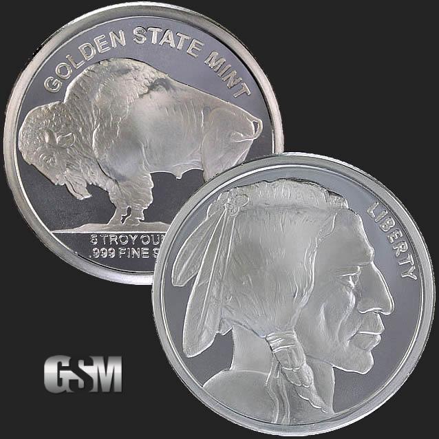 Buffalo 5 Oz Silver Round 5 Oz Silver Round