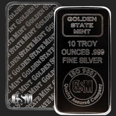 10 oz Silver Bar