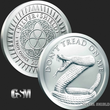 Dont Tread on Me 1 oz Silver Coin