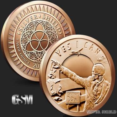 Sevin Sins of Obama 1 oz Copper Coin
