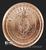 NON VI VIRTUTE VICI Silver Shield Copper 1 oz Reverse 2018