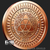 Never Trust Government  Silver Shield 1 oz Copper Reverse