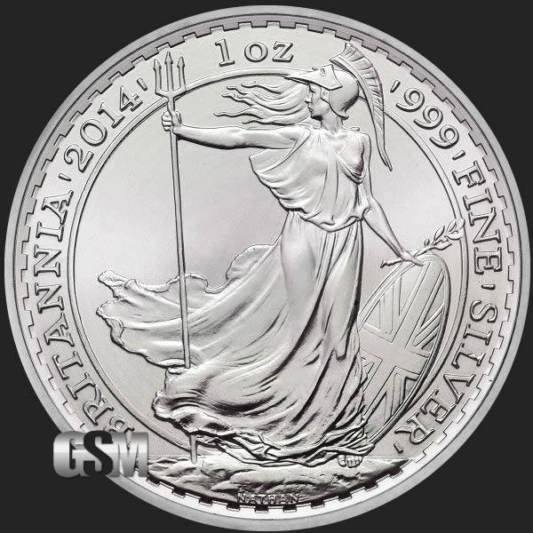 Britannia Horse Privy 1 Oz Silver Round 1 Oz Silver Coin