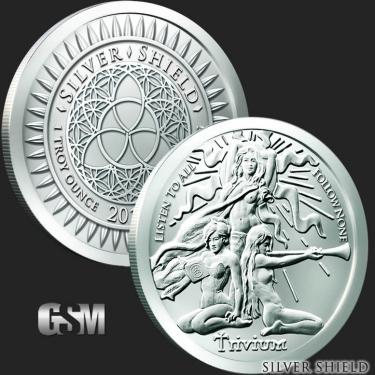 Trivium Girls 1 oz Silver Coin