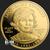 2015 Jacqueline Kennedy 1/2 oz Gold Obverse .9999 fine