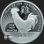 2017 Year of the Rooster 1 oz silver bullion Chinese zodiac obverse design