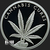 2 oz Proof Silver Cannabis Cures 2018 Silver Shield Obverse