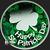 Golden State Mint Happy St. Patrick's Day 1 oz Silver Round .999 Fine Obverse