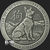 Antiqued Year of the Dog 1 oz Silver bullion round obverse design