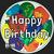 Golden State Mint Happy Birthday 1 oz Silver Round .999 Fine Obverse