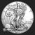 2018 US Mint 1 oz Silver Eagle obverse