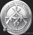 Silver Shield 1 oz Silver AG-47 Silver BU Obverse Round