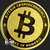 Bitcoin 1 oz Gold Bullion .9999 Fine Golden State Mint Concurrency Obverse