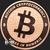 Bitcoin Cryptocurrency Copper Bullion round 1 oz .999 fine Obverse