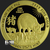 2019 1 oz Gold Year of the Pig .9999 Fine Obverse