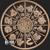 1 oz Copper Bullion Year of the Pig Chinese Zodiac round .999 fine Reverse