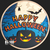 Golden State Mint - Happy Halloween Colorized Copper round 1 oz Obverse