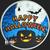 Golden State Mint Happy Halloween 1 oz Silver Round .999 Fine Obverse