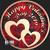 Golden State Mint - Happy Valentine Day 2019 Colorized Copper round 1 oz Obverse