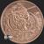 Golden State Mint 1 oz Rate Reaper Inverted MiniMintage Copper BU .999 Fine Silver Shield Obverse