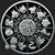 Year of the Rat 1 oz Silver bullion round reverse design