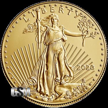 2020 1 oz American Gold Eagle