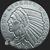 Golden State Mint Silver Incuse 1/2 oz round obverse no date