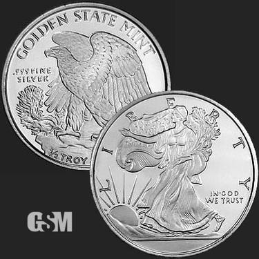 Walking Liberty 1/2 oz Silver Coin