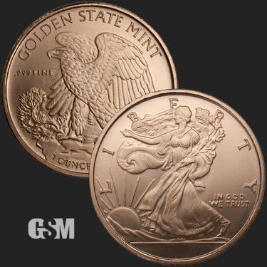 Peace Will Rise Again 1 oz Copper Round Coin Bullion Apocalypse