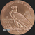 Golden State Mint 1 oz Incuse Indian Copper Bullion Obverse