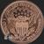 Golden State Mint Mercury Dime copper round 1 oz back